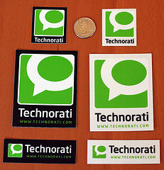 Technorati stickers