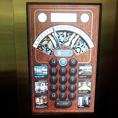Nifty elevator interface. #skeumorph #nasig13
