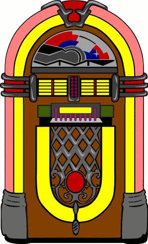 A jukebox icon
