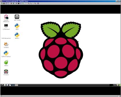 Raspberry Pi over TightVNC