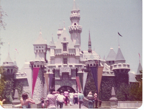 Charming 1956 Disneyland Home Movie