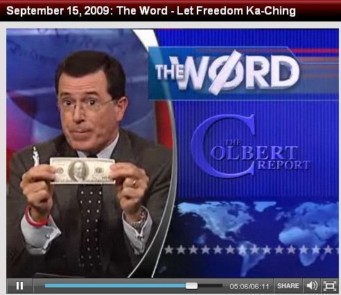 Stephen Colbert - Where Does Your Gas Dollar Go?