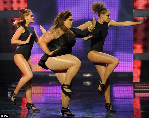 Katy Brand does Beyonce dance spoof