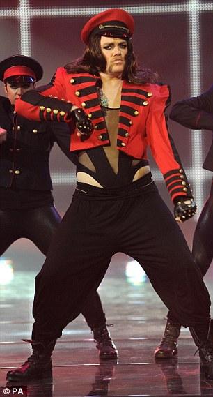 Rufus Hound does Cheryl dance parody