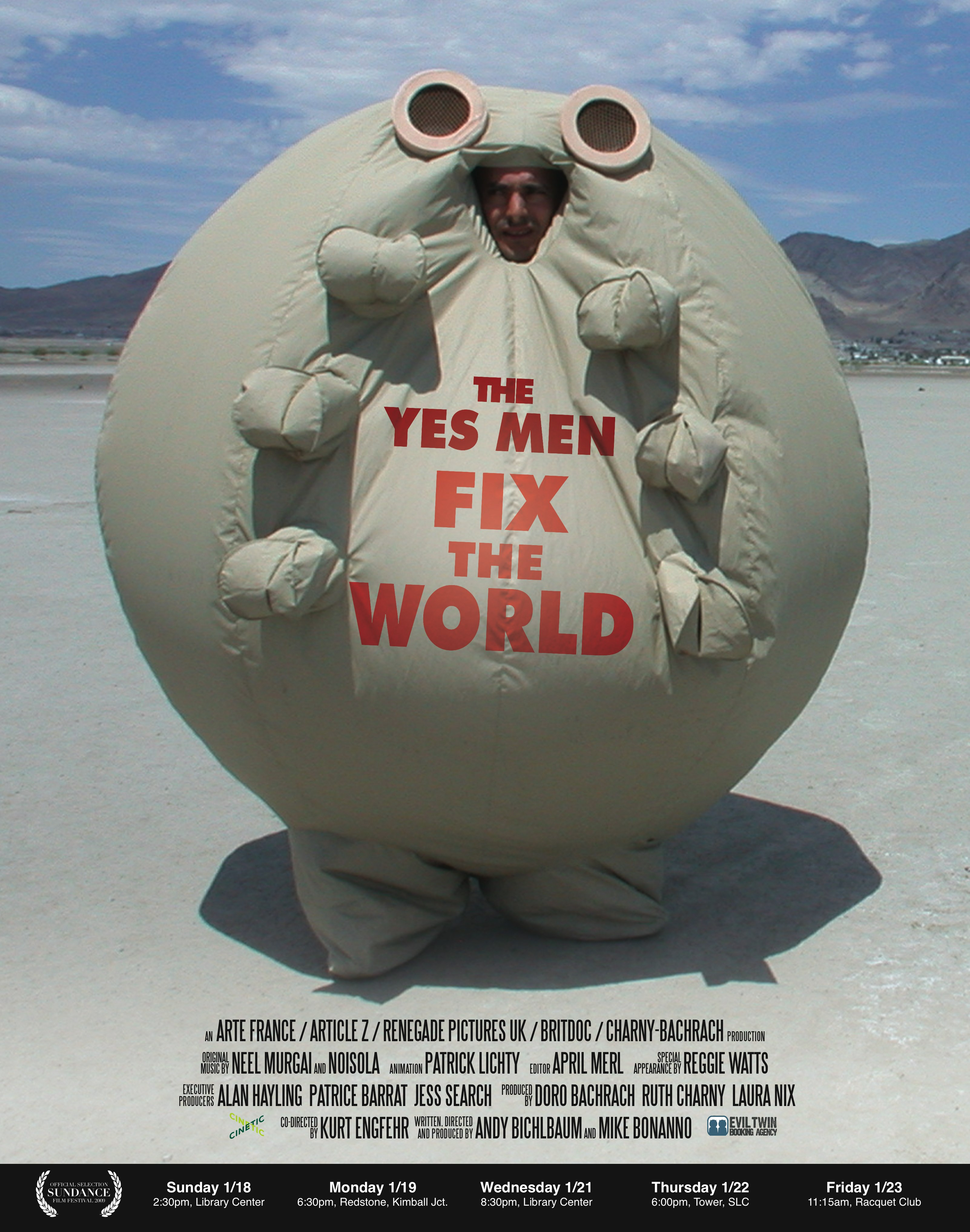Yes Men Fix the World (2009)