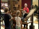 Demonstrating the Gutenberg Printing Press