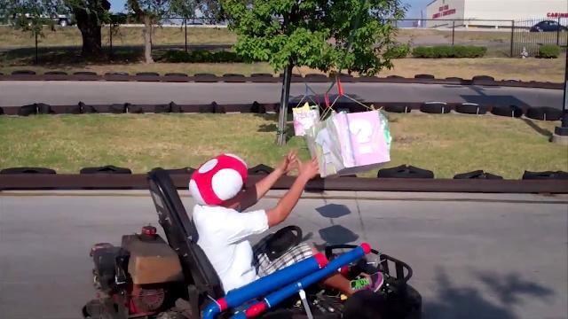 Finally, a REAL Real Life Mario Kart track