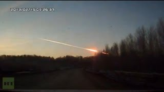 Meteorite crashes in Russian Urals Region