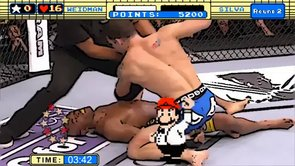 Chris Weidman's Punch Out - Anderson Silva (UFC 162)