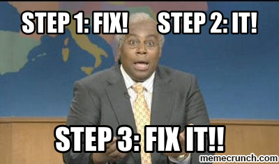 SNL Weekend Update - Fix It