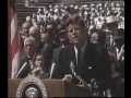 John F. Kennedy Moon Speech - Part 2 of 2