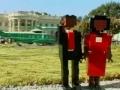 Obama inaugurated in Lego form